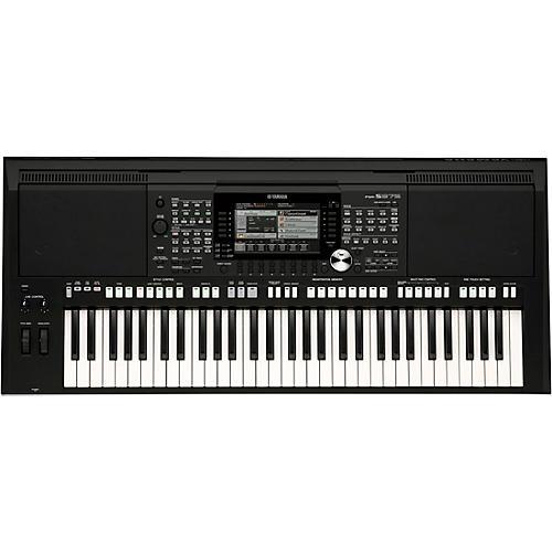 Yamaha psr s975 61 key portable arranger keyboard guitar for Yamaha piano keyboard 61 key psr 180