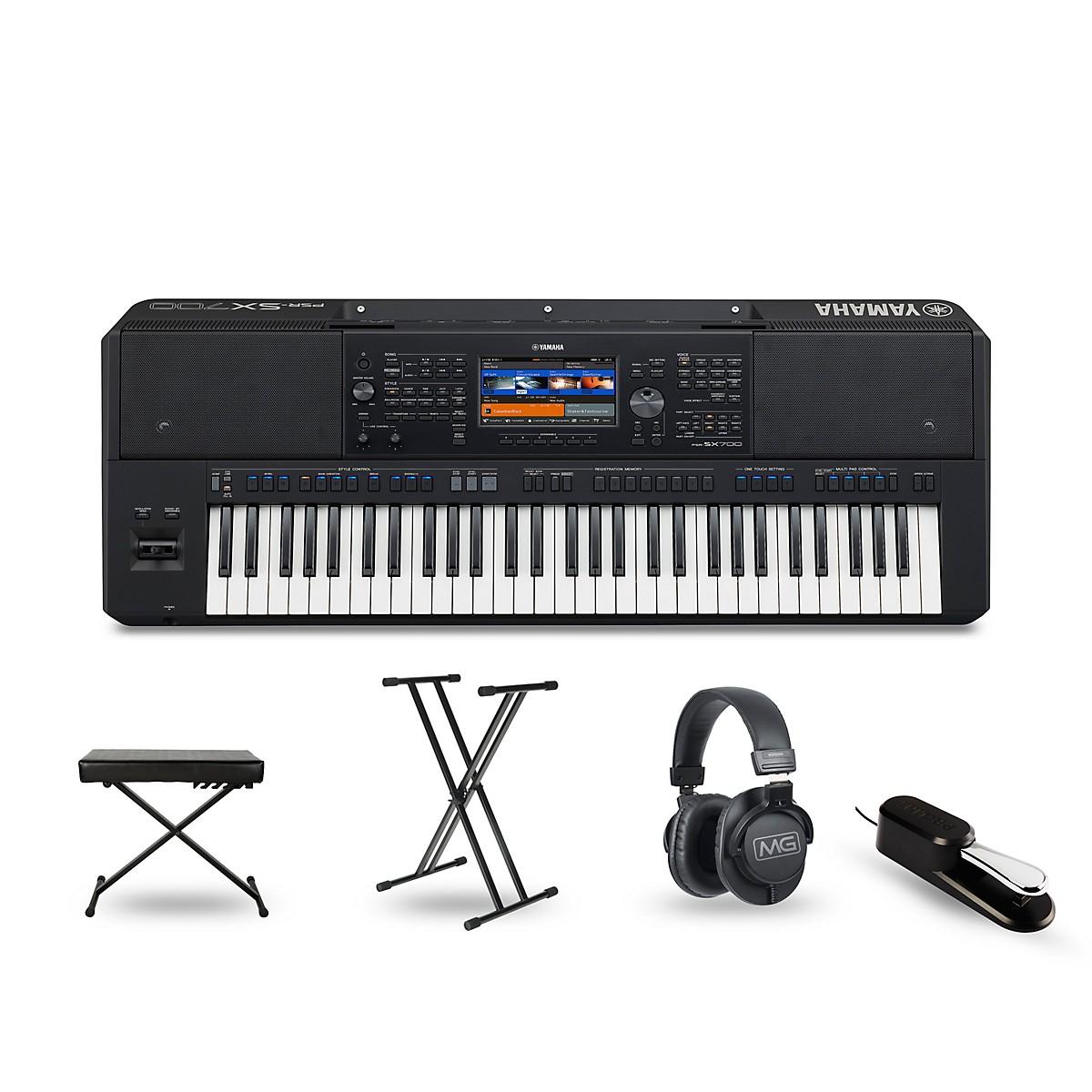 Yamaha PSR-SX700 Keyboard Essentials Package