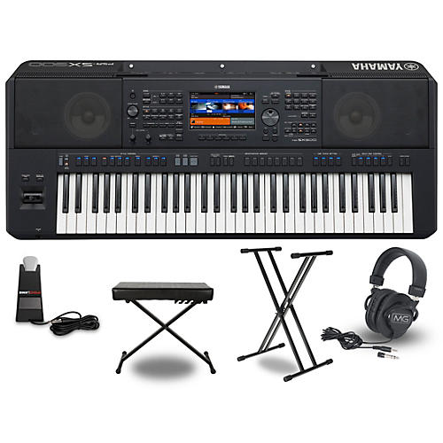 Yamaha PSR-SX900 Keyboard Package
