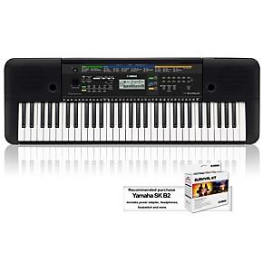 yamaha psre253 61 key portable keyboard guitar center. Black Bedroom Furniture Sets. Home Design Ideas