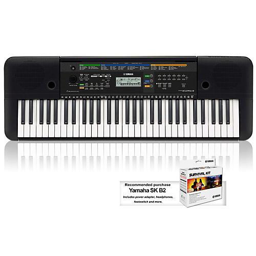 Yamaha Psre253 61 Key Portable Keyboard Guitar Center