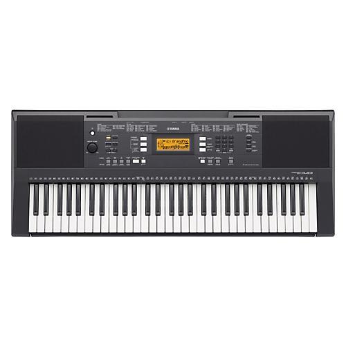 yamaha psre343 61 key portable keyboard guitar center. Black Bedroom Furniture Sets. Home Design Ideas