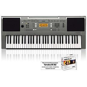 yamaha psre353 61 key portable keyboard guitar center. Black Bedroom Furniture Sets. Home Design Ideas