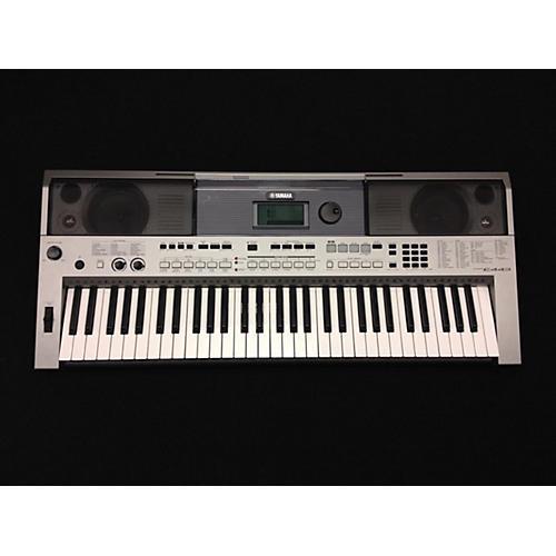 Yamaha PSRE443 61 KEY Chrome Silver Keyboard Workstation