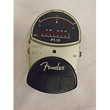 Fender PT 10 Tuner Pedal