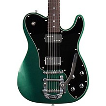 PT Fastback IIB Electric Guitar Dark Emerald Green Black Pickguard
