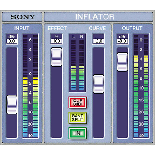Sony PTH-INFLG2 Oxford Inflator Plug-in for Pro Tools TDM