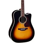 PTU241C Dreadnought Acoustic-Electric Guitar Tobacco Sunburst
