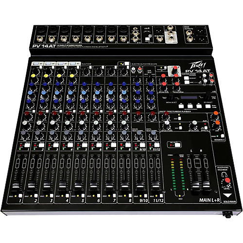 Peavey PV 14 AT Mixer with Autotune