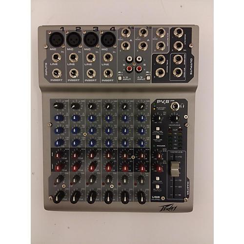 Peavey PV8USB Powered Mixer