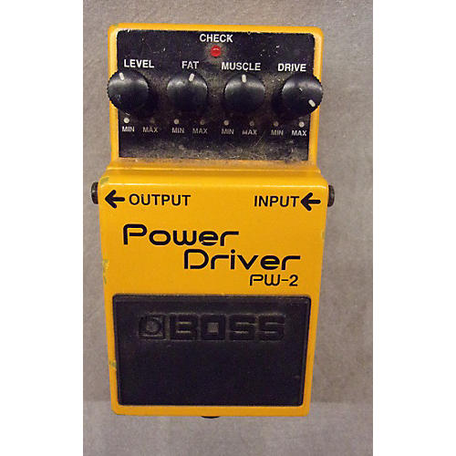 Boss PW2 POWER DRIVER Effect Pedal