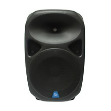 "Gem Sound PXB150USB 15"" Powered Speaker with USB/SD Media Player/Wheels"