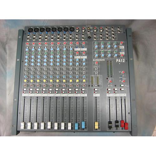 Allen & Heath Pa12 Unpowered Mixer