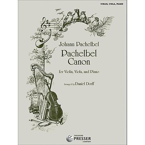Carl Fischer Pachelbel Canon - Violin/Viola/Piano