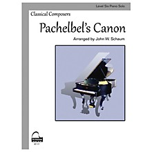 SCHAUM Pachelbel's Canon (Schaum Level Six Piano Solo) Educational Piano Book by Johann Pachelbel