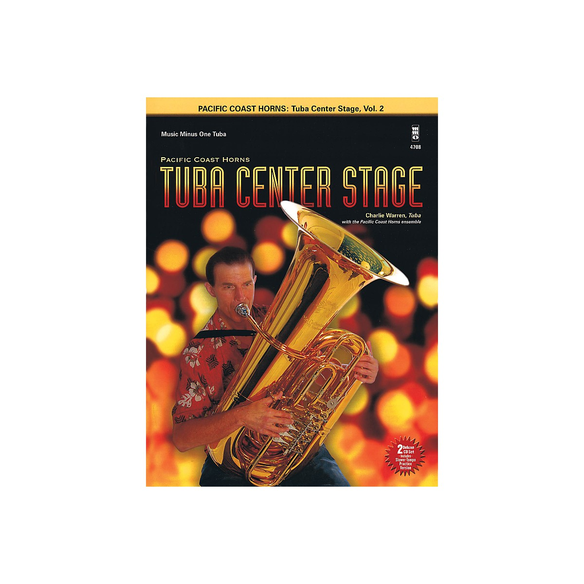 Hal Leonard Pacific Coast Horns - Tuba Center Stage, Vol. 2 Book/2CD