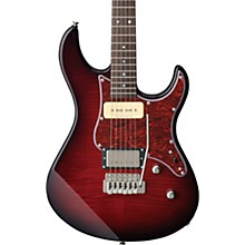 Pacifica 611 Tremolo Electric Guitar Dark Red Burst