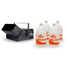 CHAUVET DJ Package with B550 Bubble King Effect and 4 Gal. of Bubble Juice