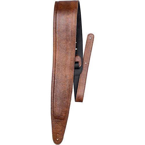 Perri's Padded Garment Italian Leather Guitar Strap