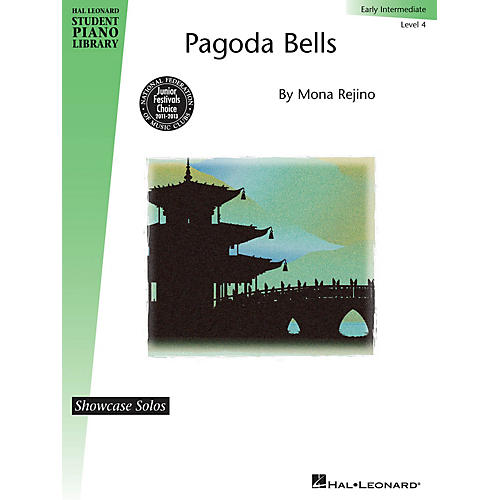 Hal Leonard Pagoda Bells Piano Library Series by Mona Rejino (Level Early Inter)
