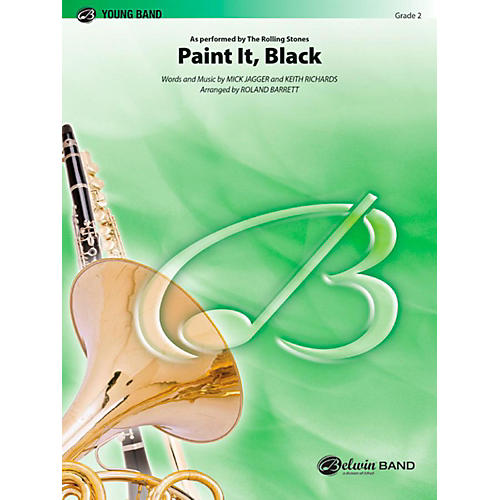 Alfred Paint It Black Concert Band Level 2 Set