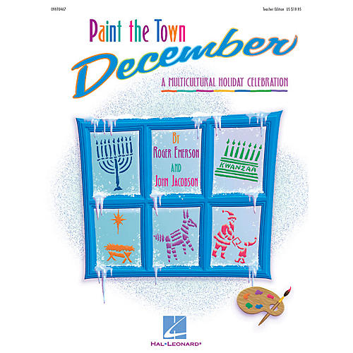 Hal Leonard Paint the Town December (Holiday Musical) (A Multicultural Holiday Celebration) PREV CD by Roger Emerson