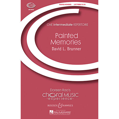 Boosey and Hawkes Painted Memories (CME Intermediate) 2-Part composed by David Brunner