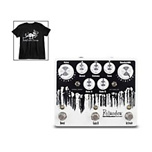 Earthquaker Devices Palisades V2 Overdrive Effects Pedal and Octoskull T-Shirt Large Black