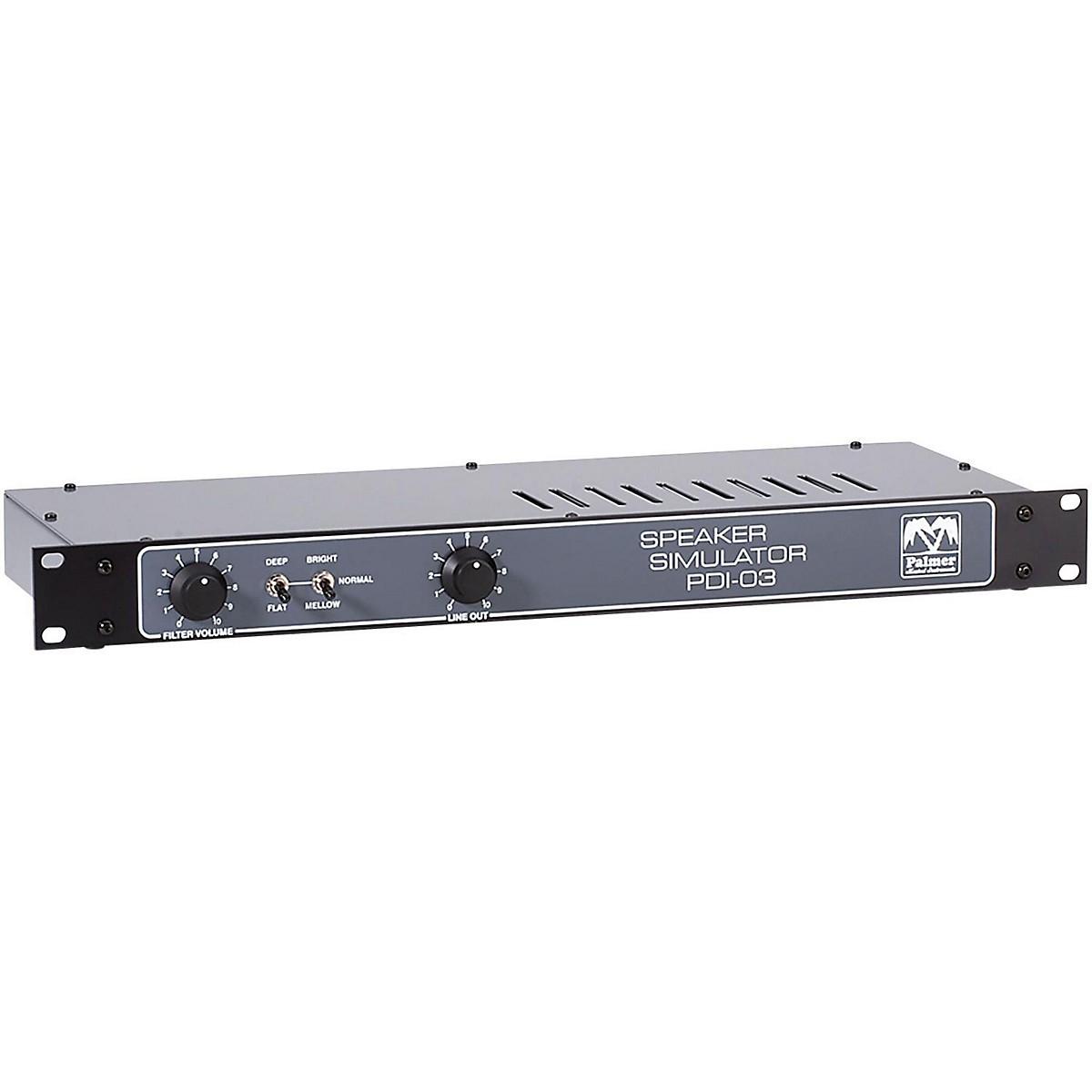 Palmer Audio Palmer Audio PDI 03 L16 Speaker Simulator with Loadbox 8 Ohms