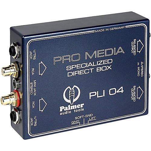 Palmer Audio Palmer Audio PLI 04 Line Isolation Box 2 Channel