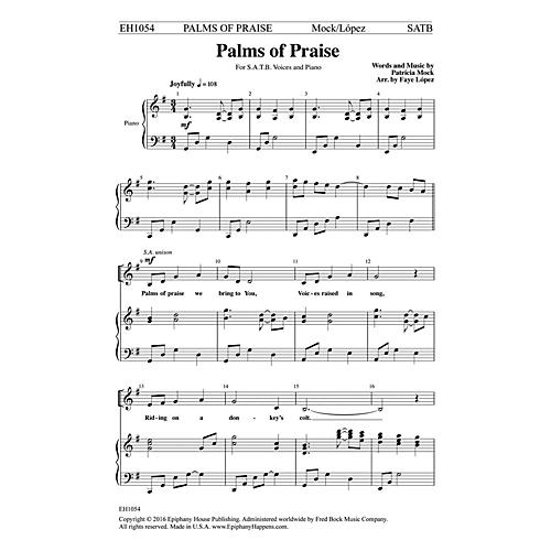 Epiphany House Publishing Palms of Praise SATB arranged by Faye López