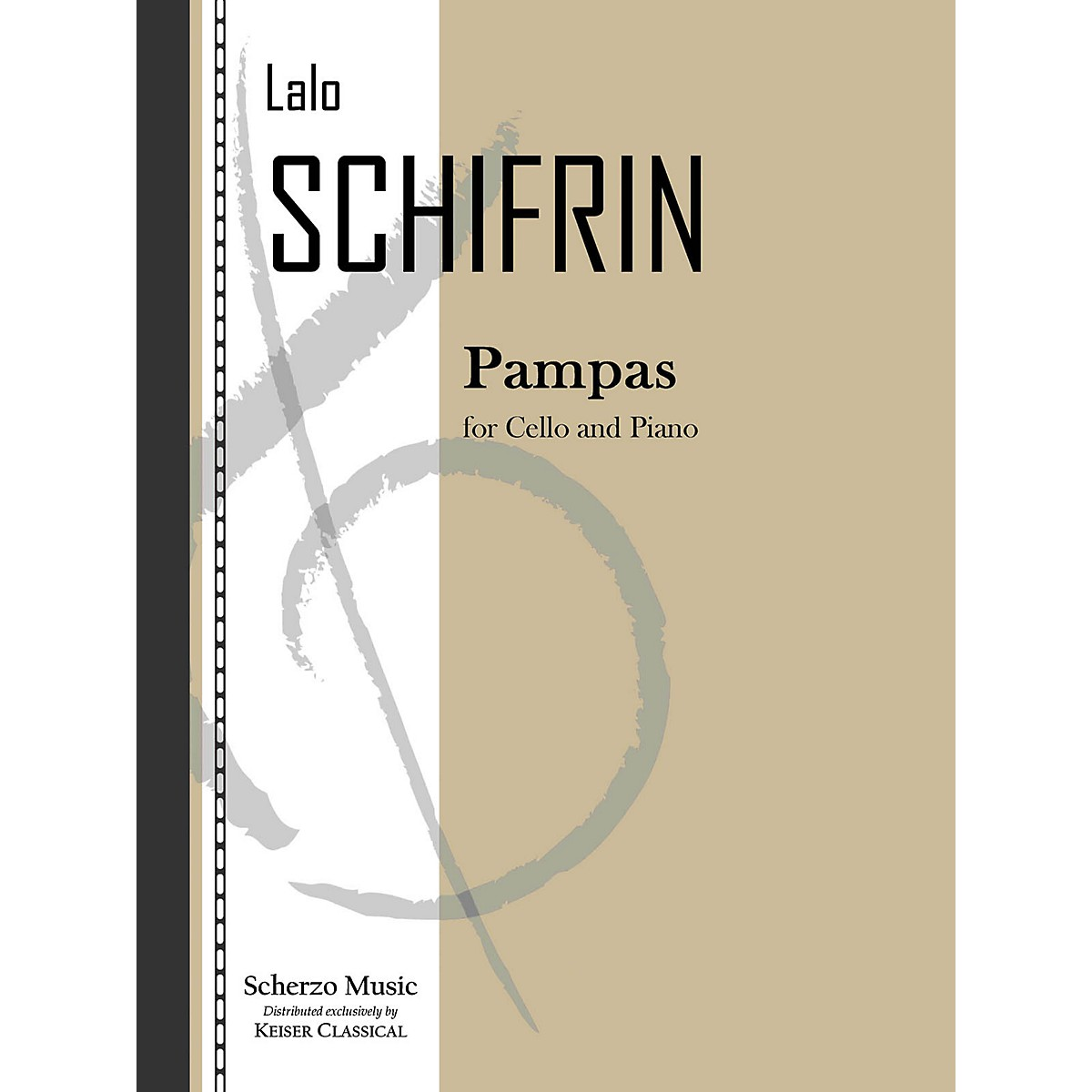 Lauren Keiser Music Publishing Pampas (Cello and Piano) LKM Music Series Composed by Lalo Schifrin