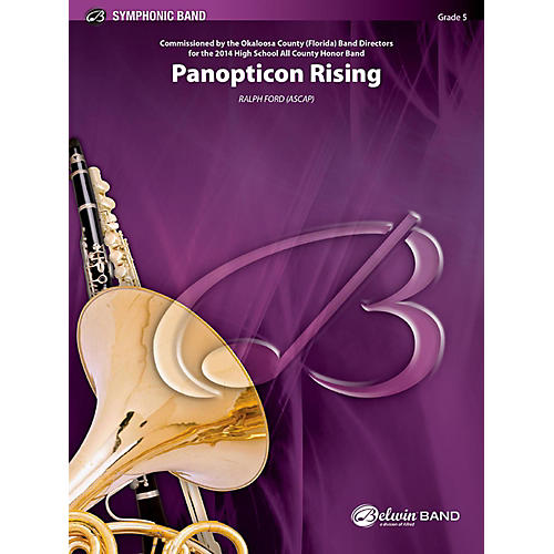 BELWIN Panopticon Rising Concert Band Grade 5 (Difficult)