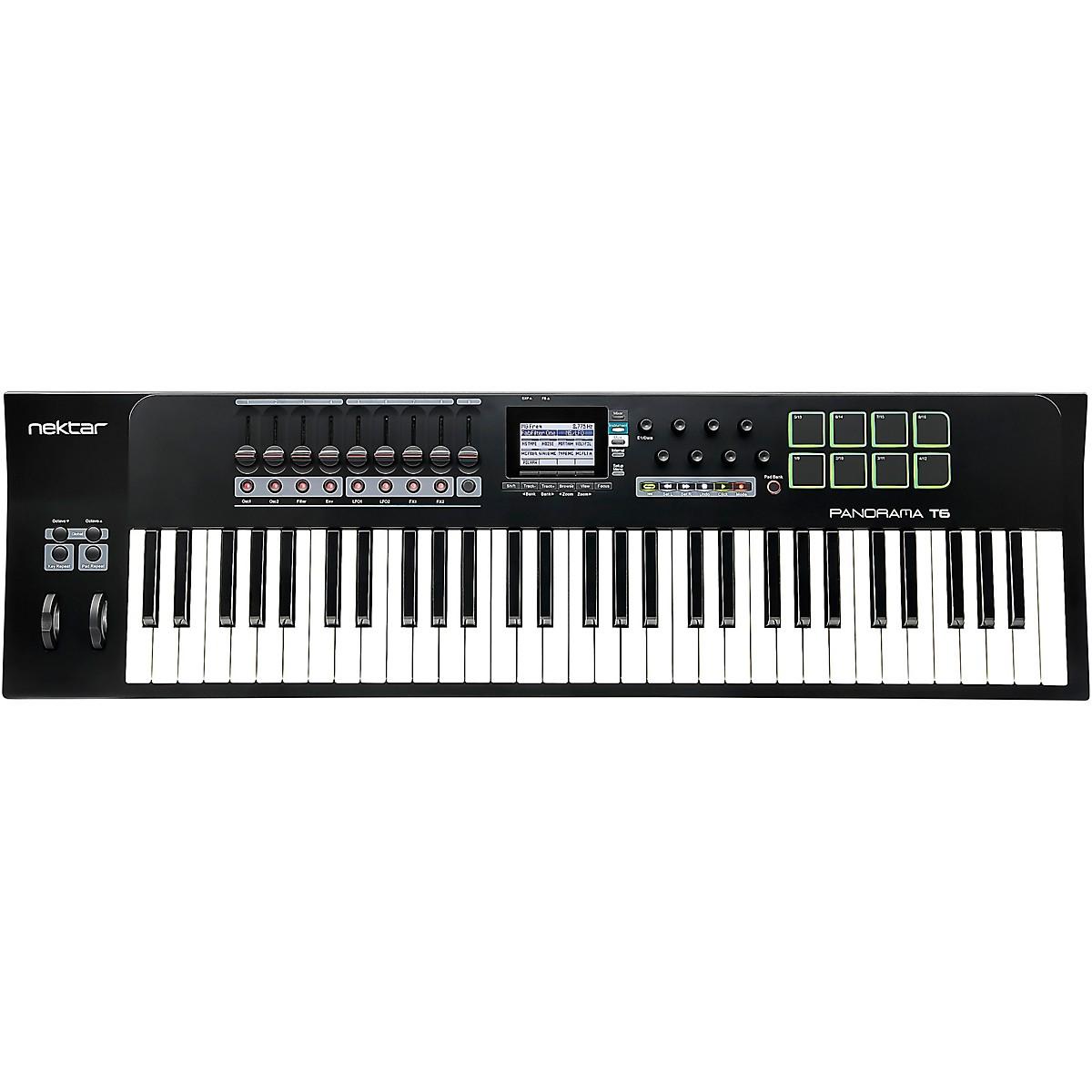 Nektar Panorama T6 61-Key USB MIDI Keyboard Controller