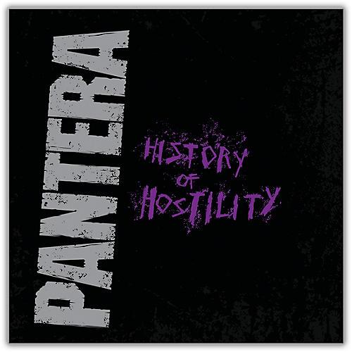 WEA Pantera - History Of Hostility Vinyl LP