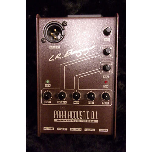 LR Baggs Para Acoustic DI Direct Box Pre With EQ STRG GTR/BAS PICKUPS