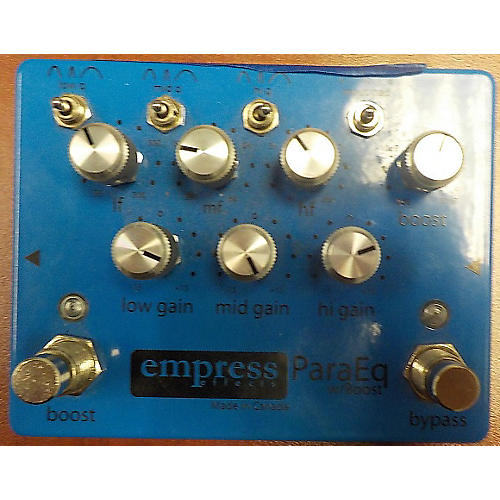 Empress Effects ParaEq With Boost EQ Pedal