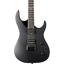 Parallaxe Series Double Cutaway Solid Body Electric Guitar Level 2 Black 190839336156