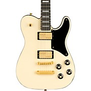 Parallel Universe Vol. II Troublemaker Tele Deluxe Electric Guitar Olympic White