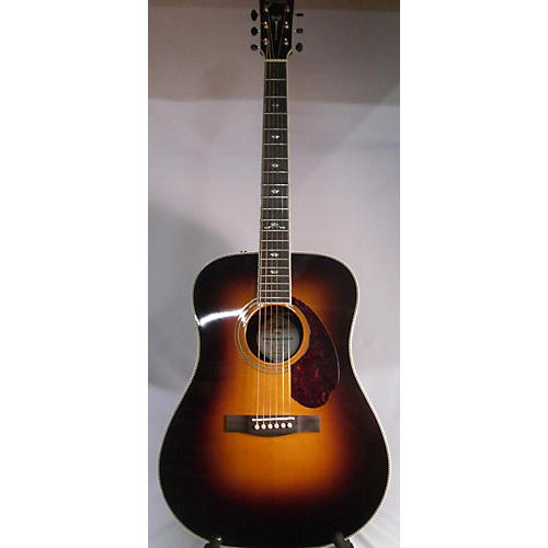 Fender Paramount PM-1 Deluxe Dreadnought Acoustic Electric Guitar