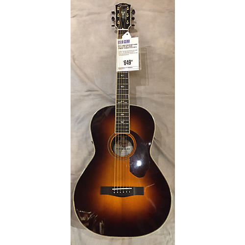used fender paramount series pm 2 deluxe sb acoustic electric guitar guitar center. Black Bedroom Furniture Sets. Home Design Ideas