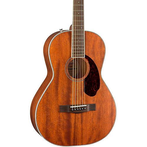 Fender Paramount Series PM-2 Standard All-Mahogany Parlor Acoustic Guitar