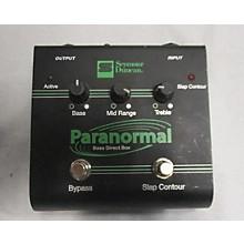 Seymour Duncan Paranormal Bass DI Bass Effect Pedal