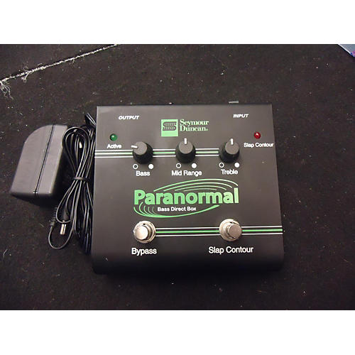 Seymour Duncan Paranormal Direct Box Bass Effect Pedal
