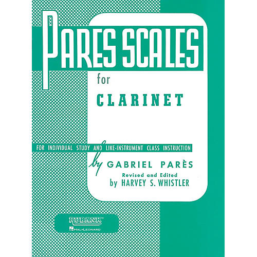 Hal Leonard Pares Scales For Clarinet
