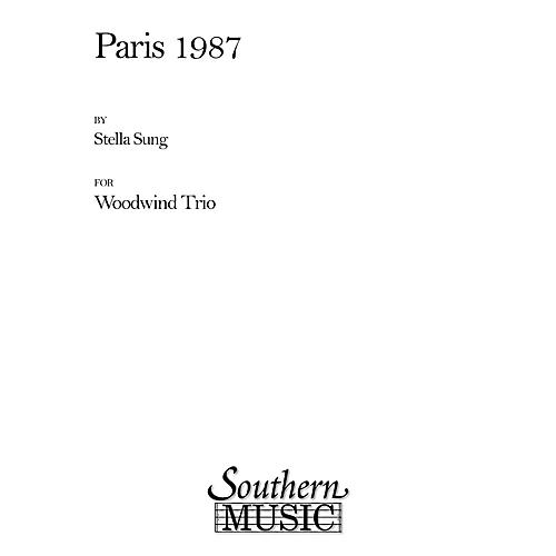 Southern Paris 1987 (Woodwind Trio) Southern Music Series by Stella Sung