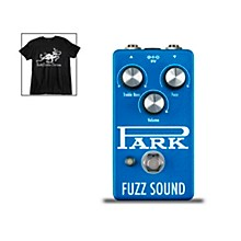 Earthquaker Devices Park Fuzz Vintage Tone Guitar Effects Pedal and Octoskull T-Shirt Large Black