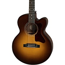 Parlor Modern Acoustic-Electric Guitar Walnut Burst
