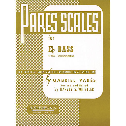 Hal Leonard Par¨s Scales For E Flat Bass