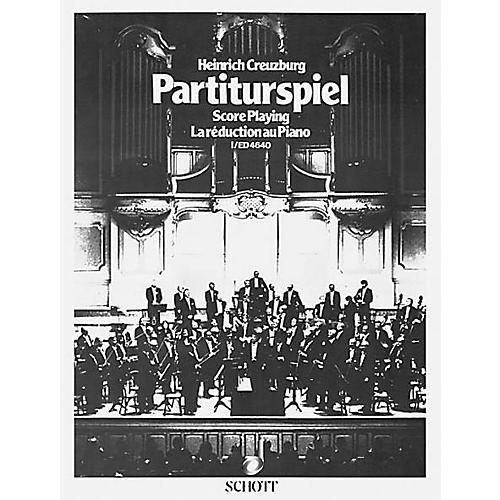 Schott Partiturspiel Old Clefs (Score Playing) (Volume 1) Schott Series